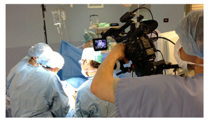 mediapool - filming surgical procedures