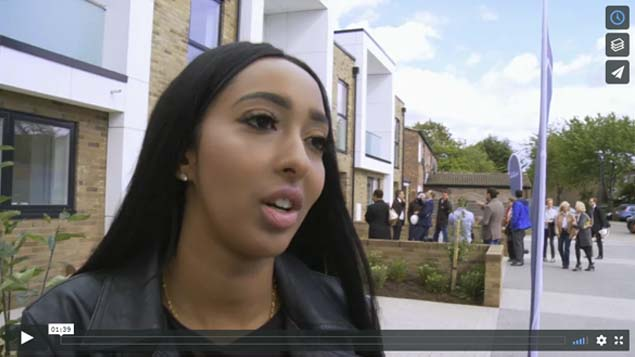 new council houses promotional film