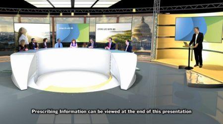 live virtual studio panel
