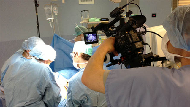 mediapool healthcare video - filming surgical procedures